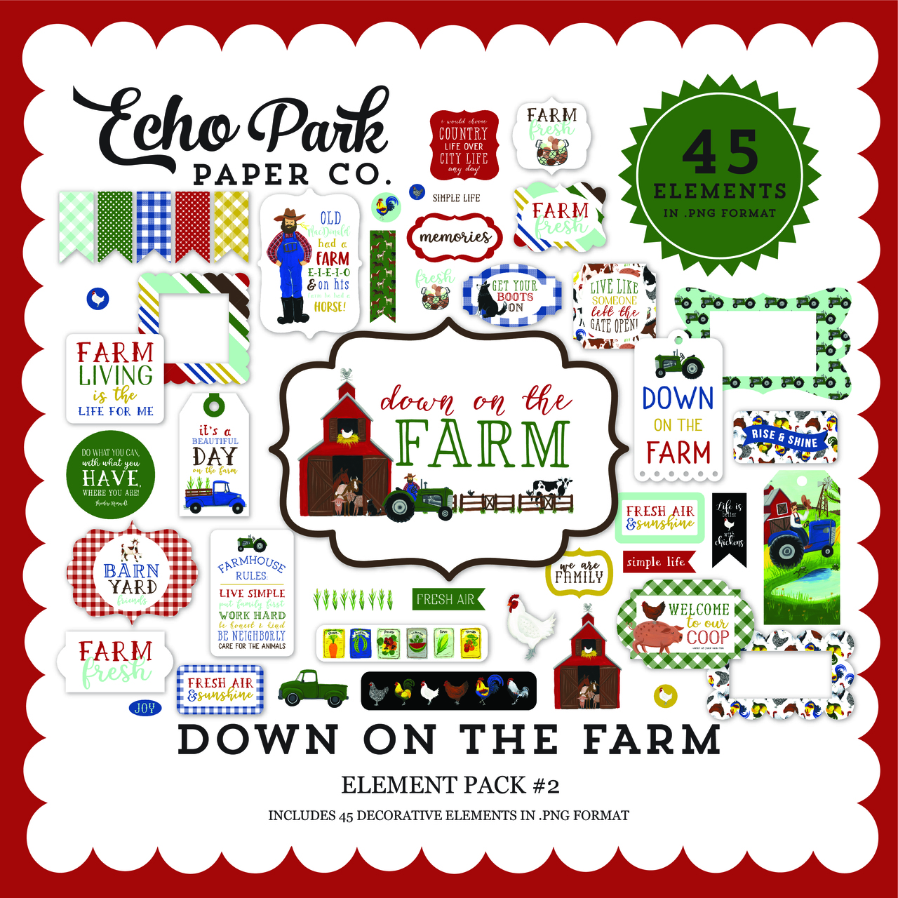 Down on the Farm Element Pack #2