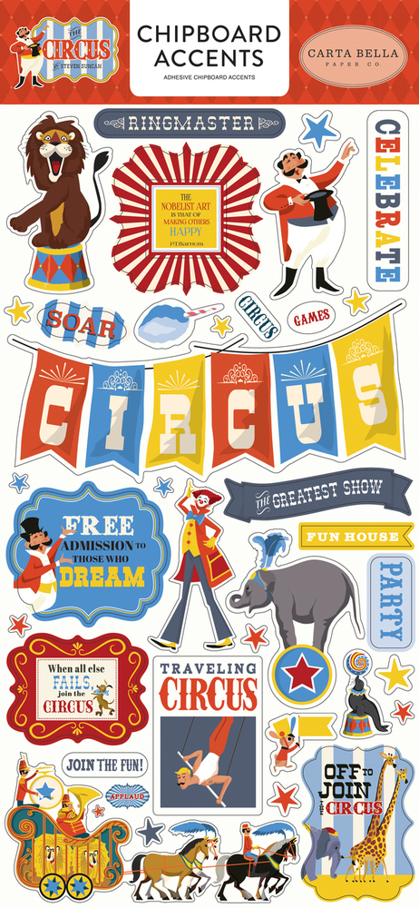 Circus Chipboard Accents