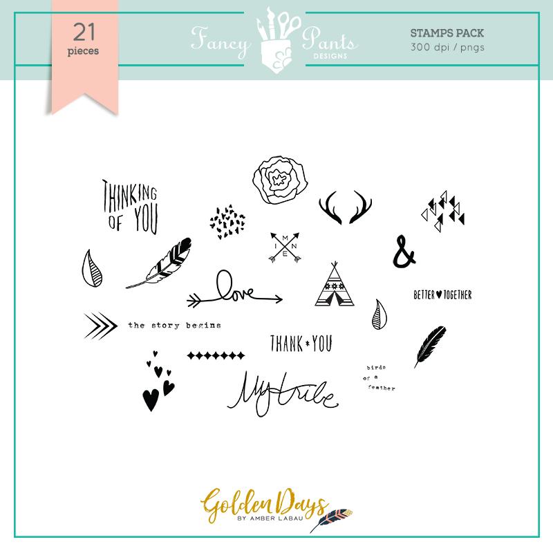 Golden Days Stamp Set