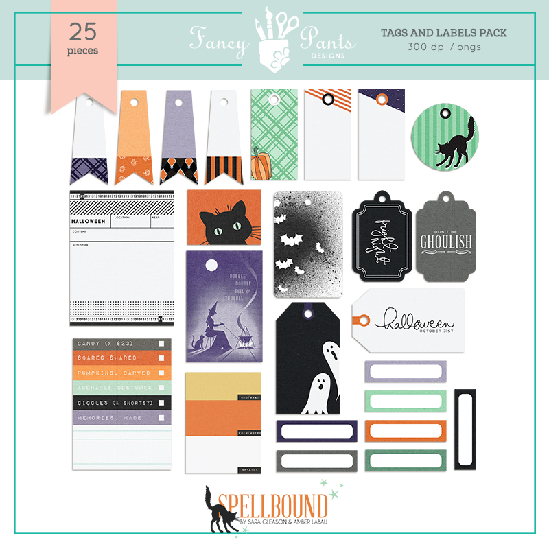 Spellbound Tags and Labels Set