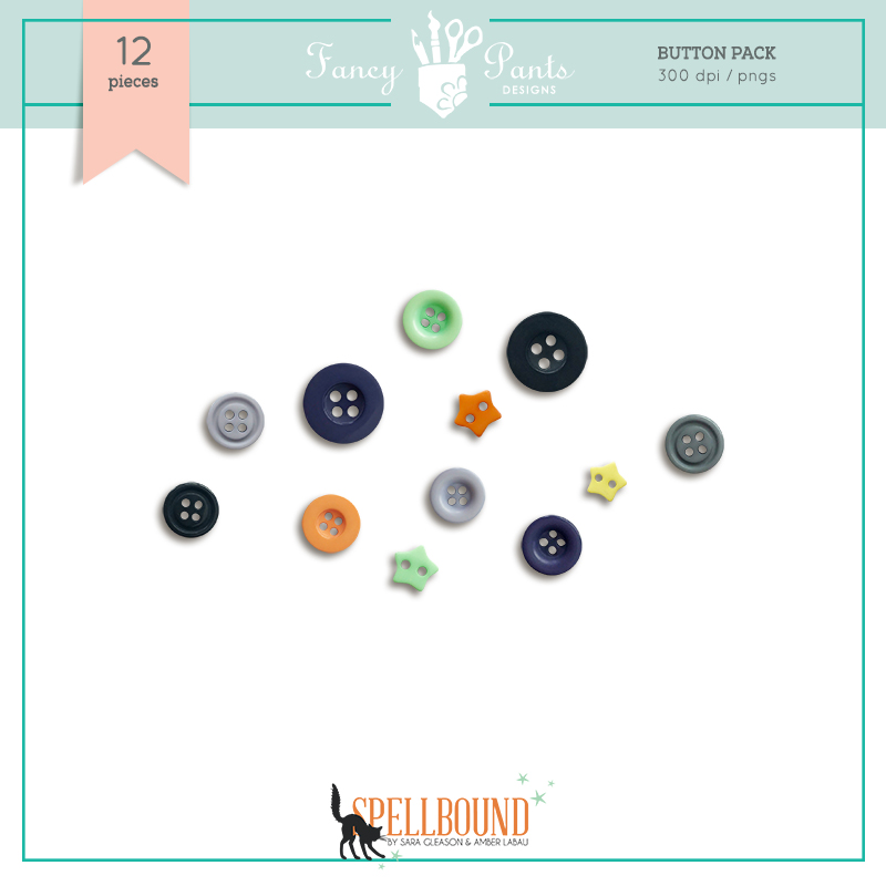 Spellbound Buttons Pack