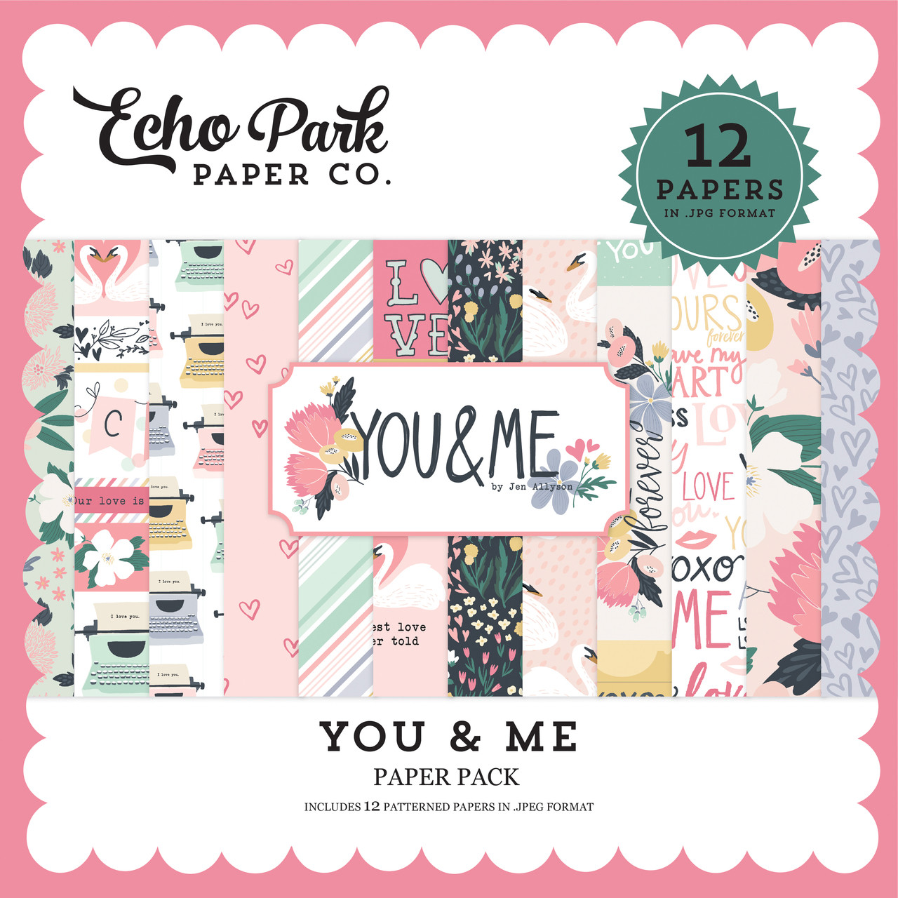 You & Me Paper Pack