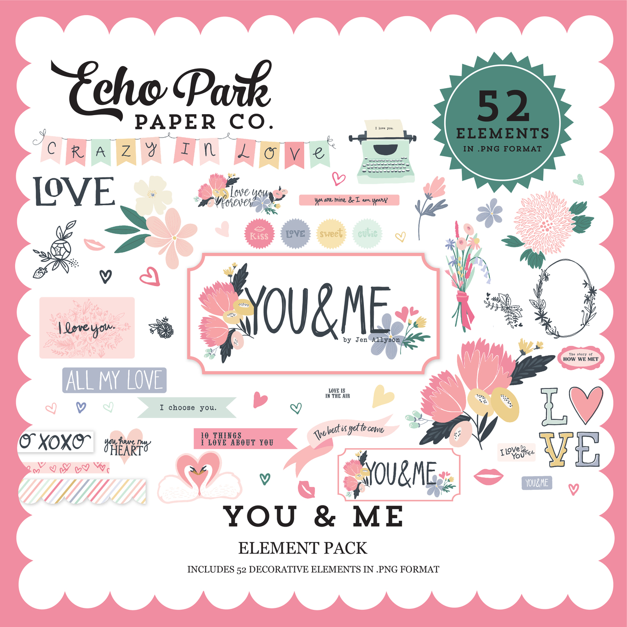 You & Me Element Pack