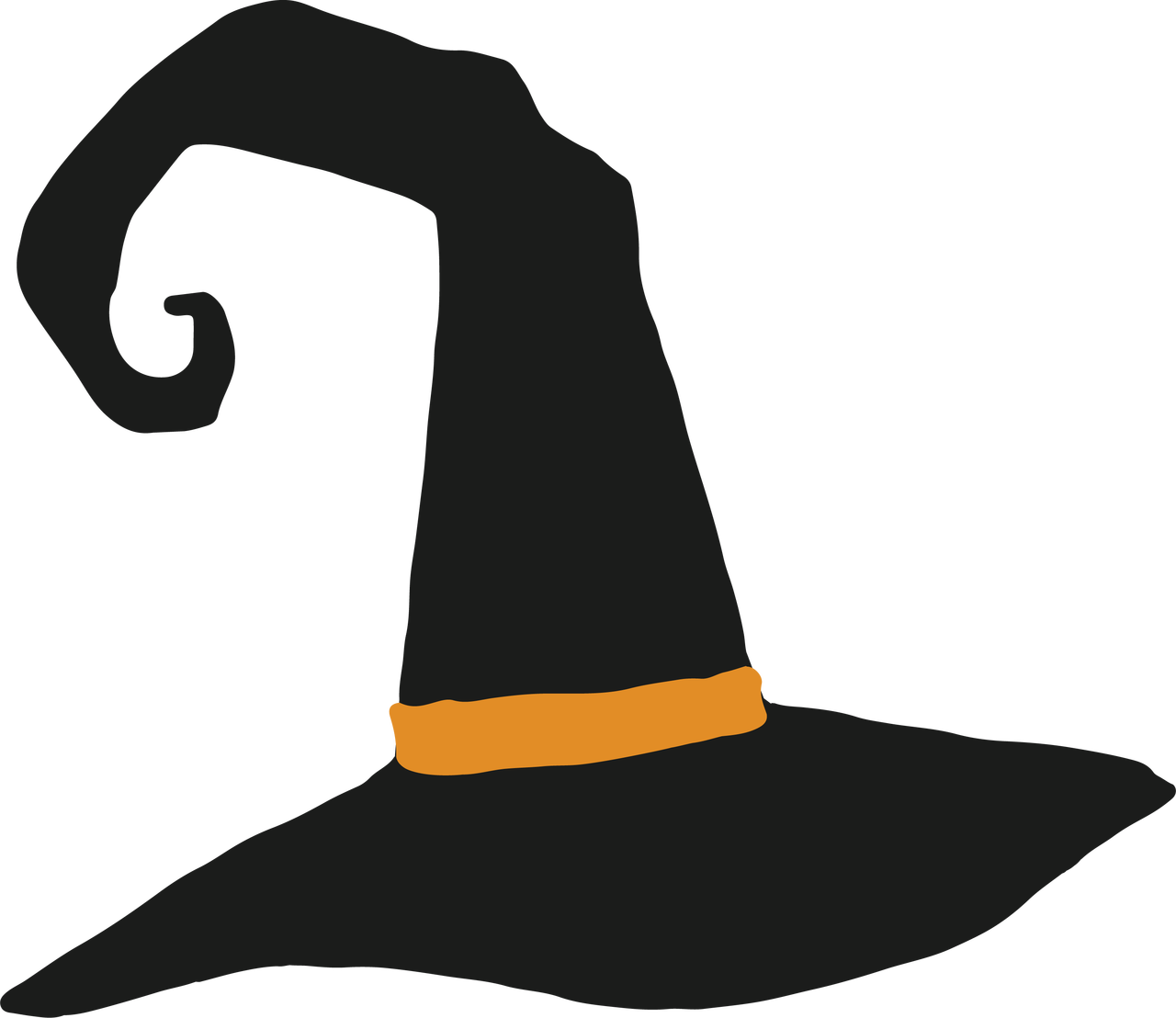 Witch S Hat Svg Cut File Snap Click Supply Co