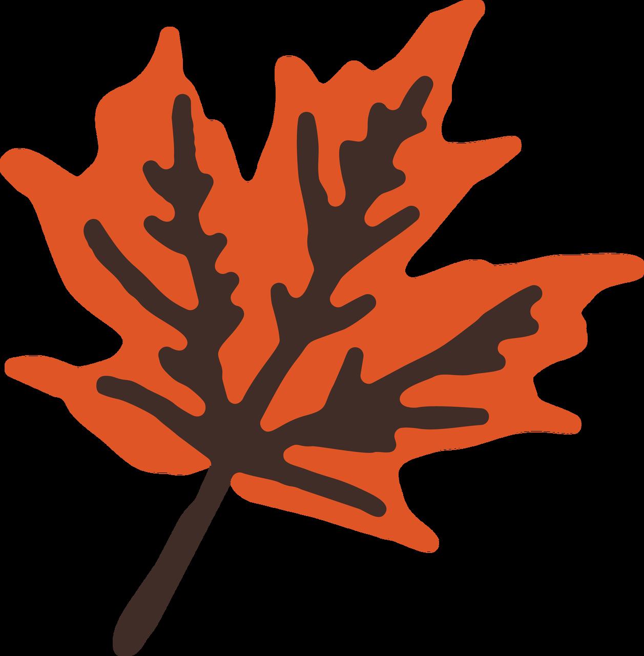 Fall Break Leaf #2 SVG Cut File