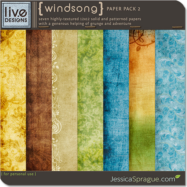 Windsong Paper Pack 2