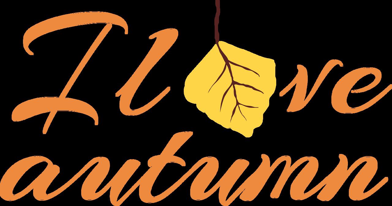 I Love Autumn SVG Cut File
