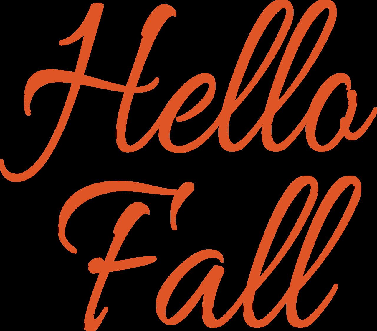 Hello Fall #4 SVG Cut File
