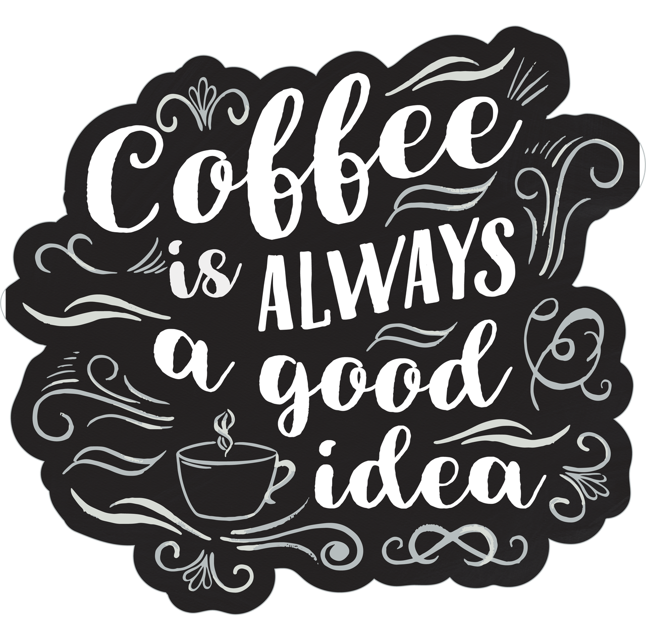 Coffee Is Always A Good Idea Print & Cut File