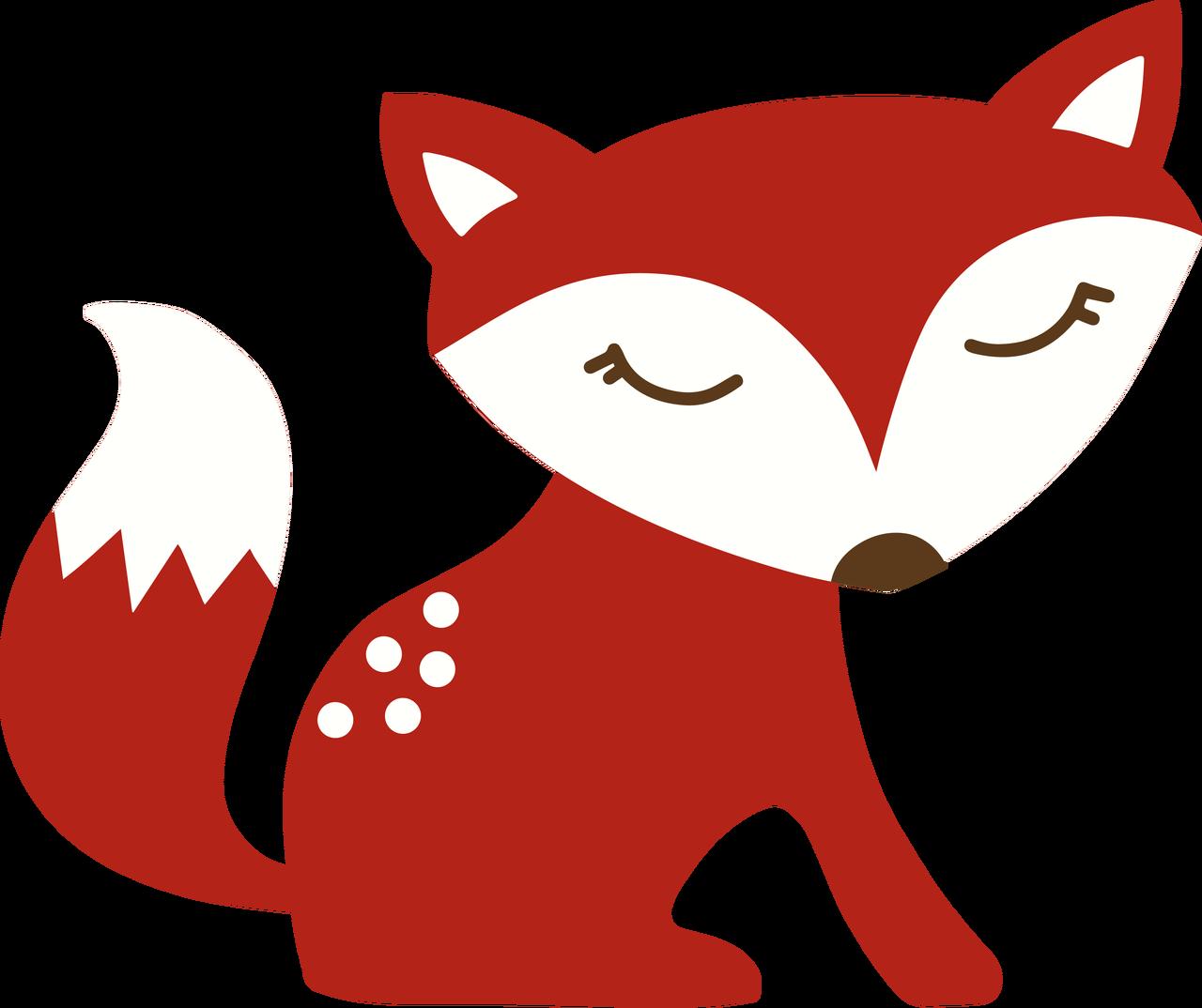 Autumn Fox SVG Cut File