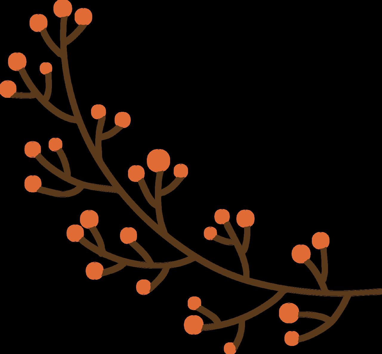 Fall Berries SVG Cut File