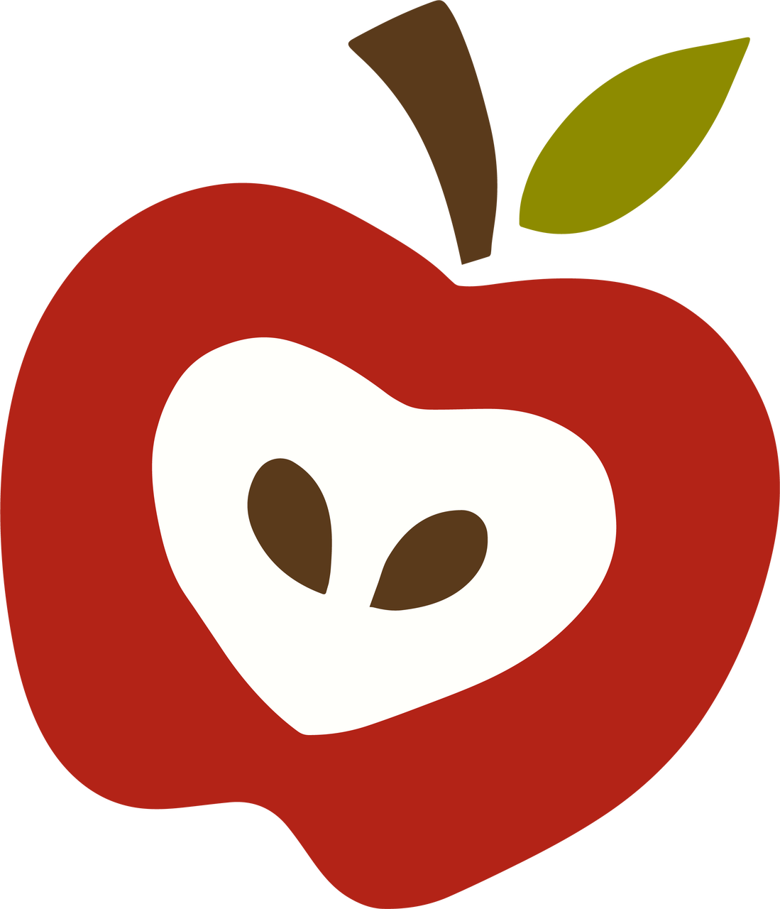Apple #3 SVG Cut File