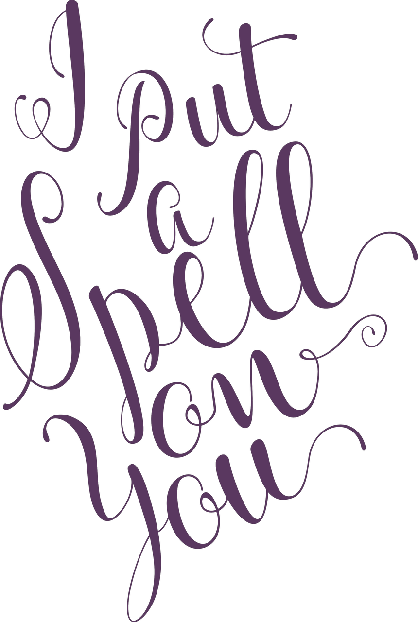 I Put A Spell On You #2 SVG Cut File
