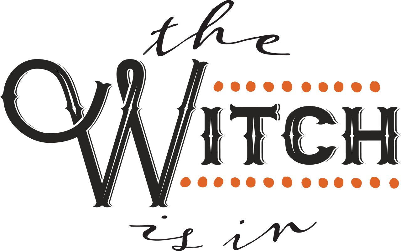 The Witch Is In SVG Cut File