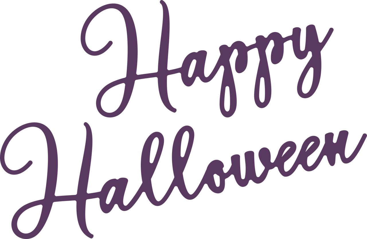 Happy Halloween #4 SVG Cut File