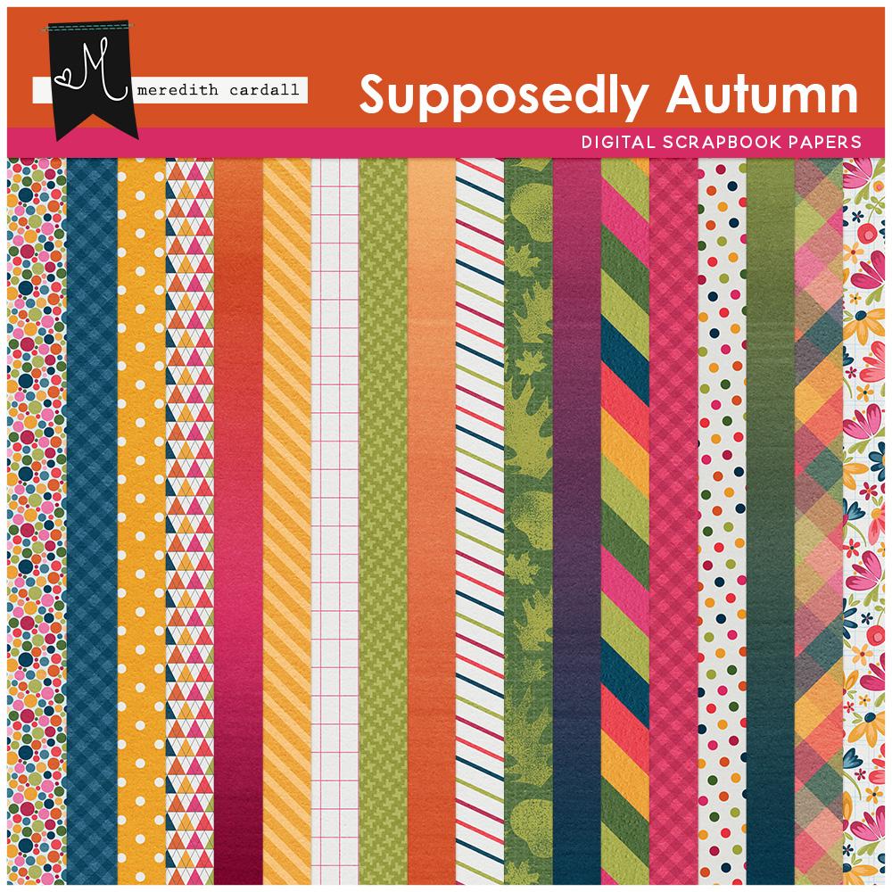 Supposedly Autumn Kit