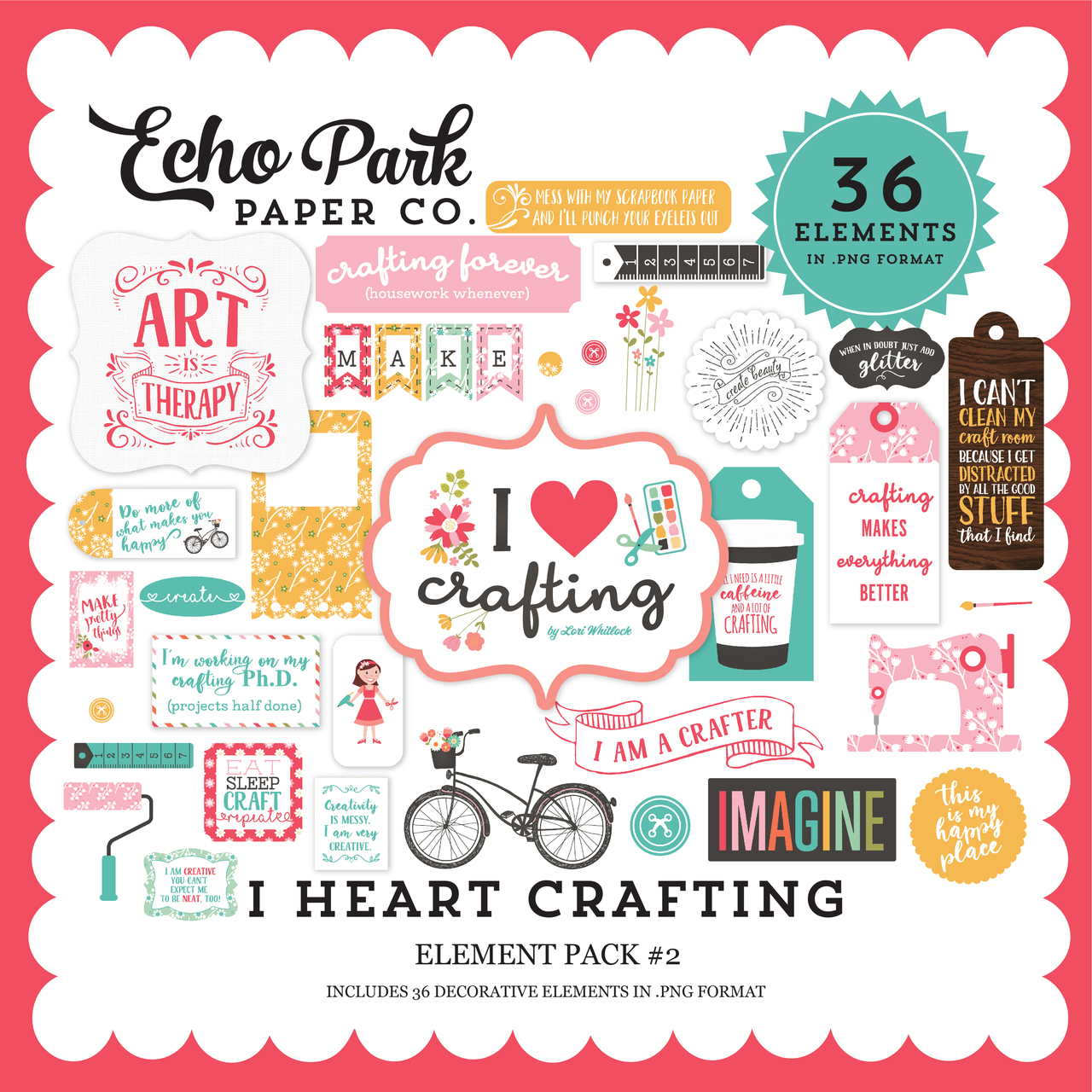 I Heart Crafting Element Pack #2