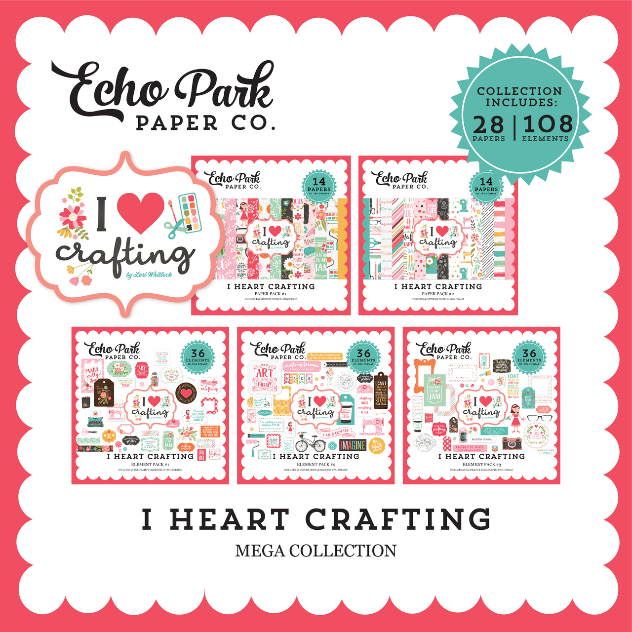 I Heart Crafting Mega Collection