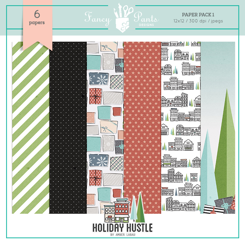 Holiday Hustle Paper Pack 1