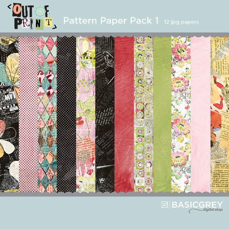 Out of Print Paper Pack 1