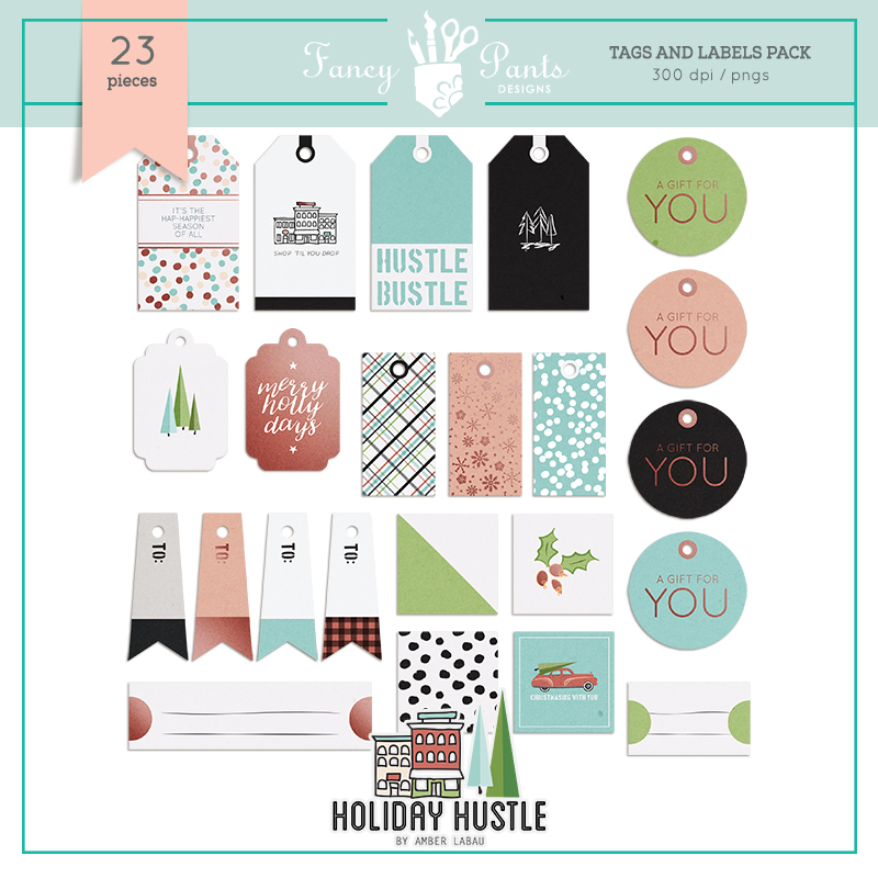 Holiday Hustle Tags Set