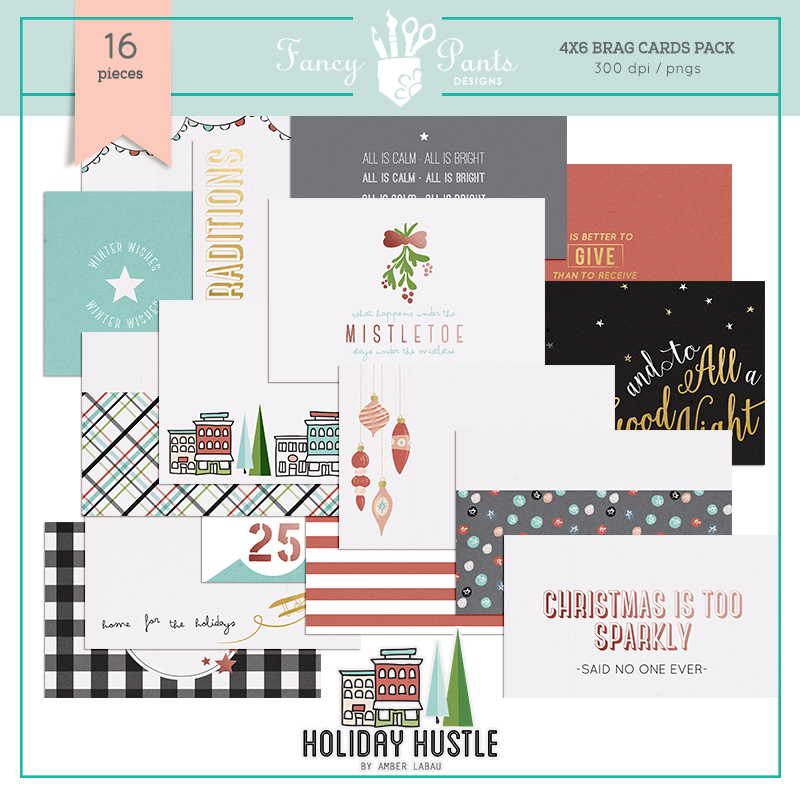 Holiday Hustle Design Cards