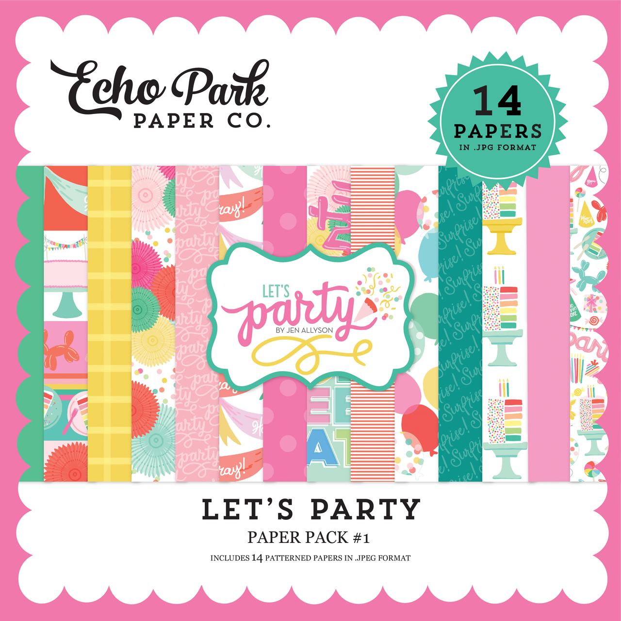 Let's Party Paper Pack #1