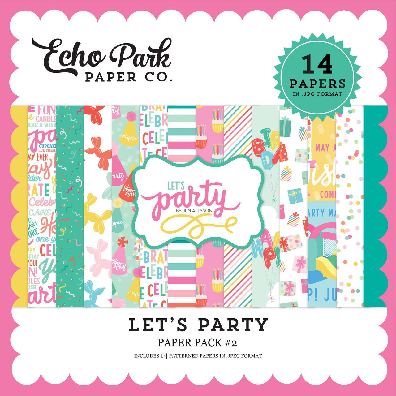 Let's Party Paper Pack #2