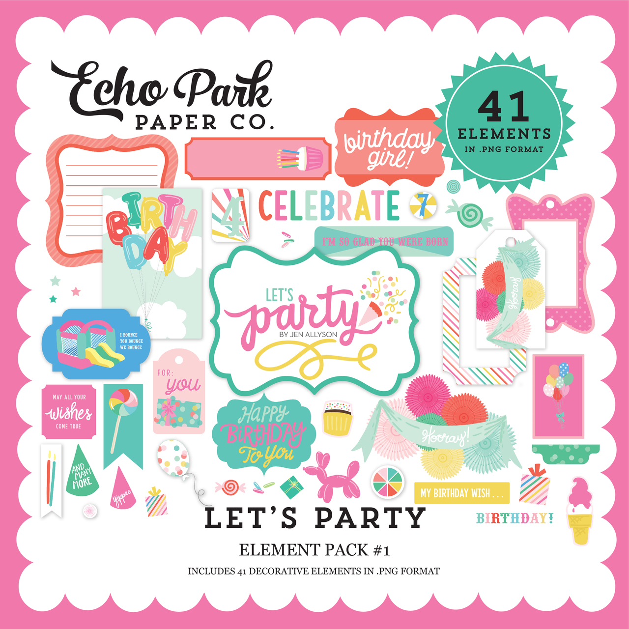 Let's Party Element Pack #1