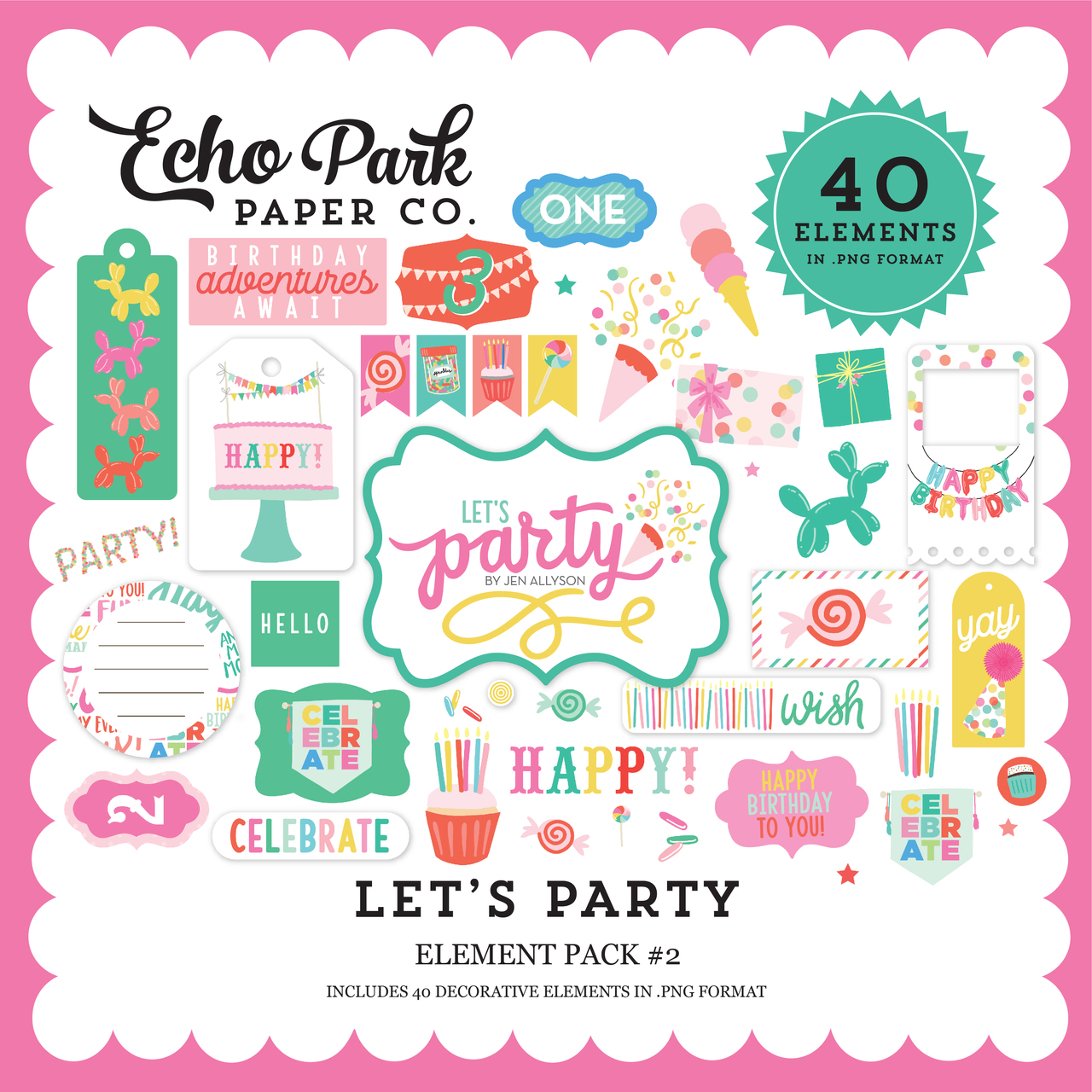 Let's Party Element Pack #2
