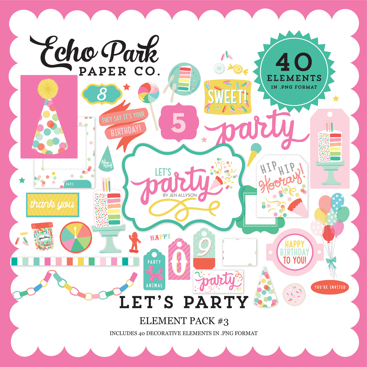 Let's Party Element Pack #3