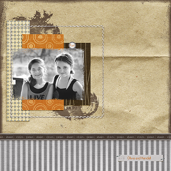 Layout created by Kelly