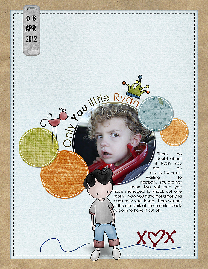 Layout created by Deb