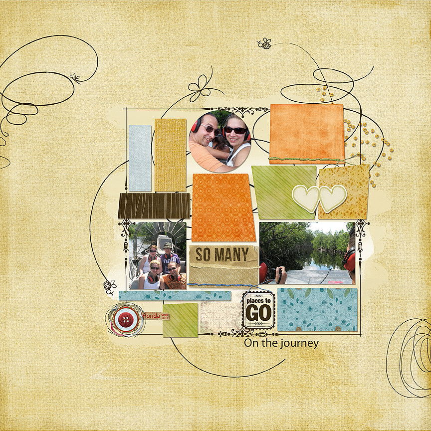 This awesome layout was created by Margje van Arnhem.