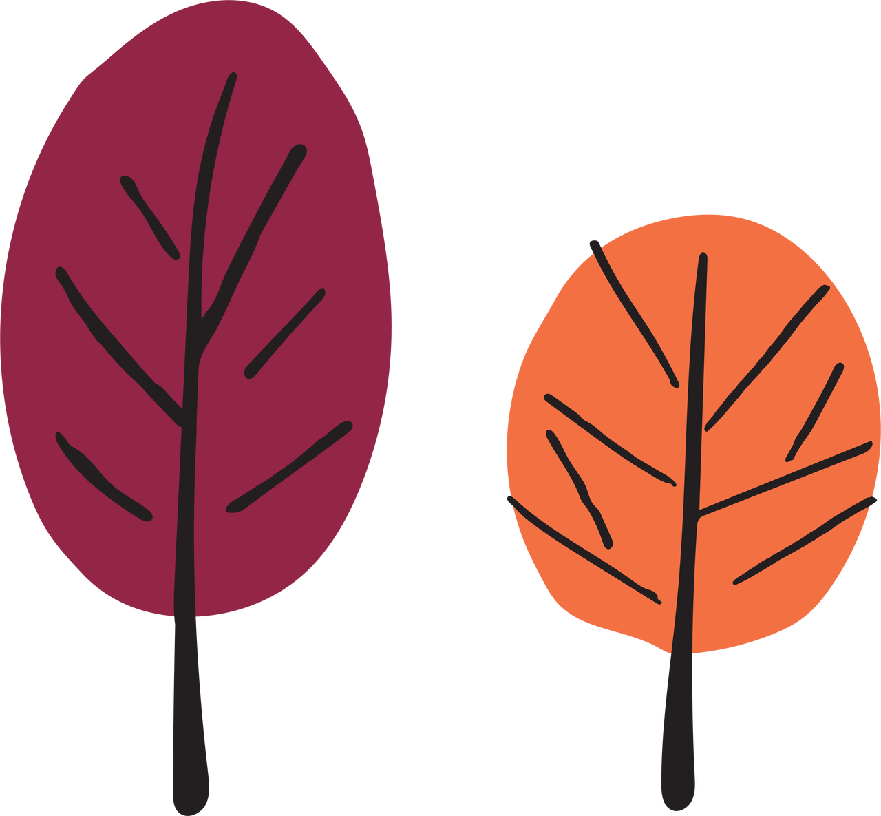 Our House Trees SVG Cut File