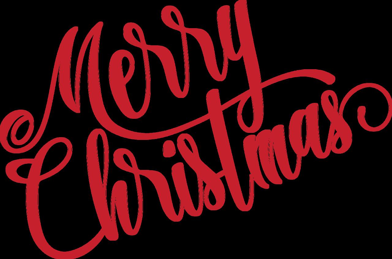 Merry Christmas Script SVG Cut File