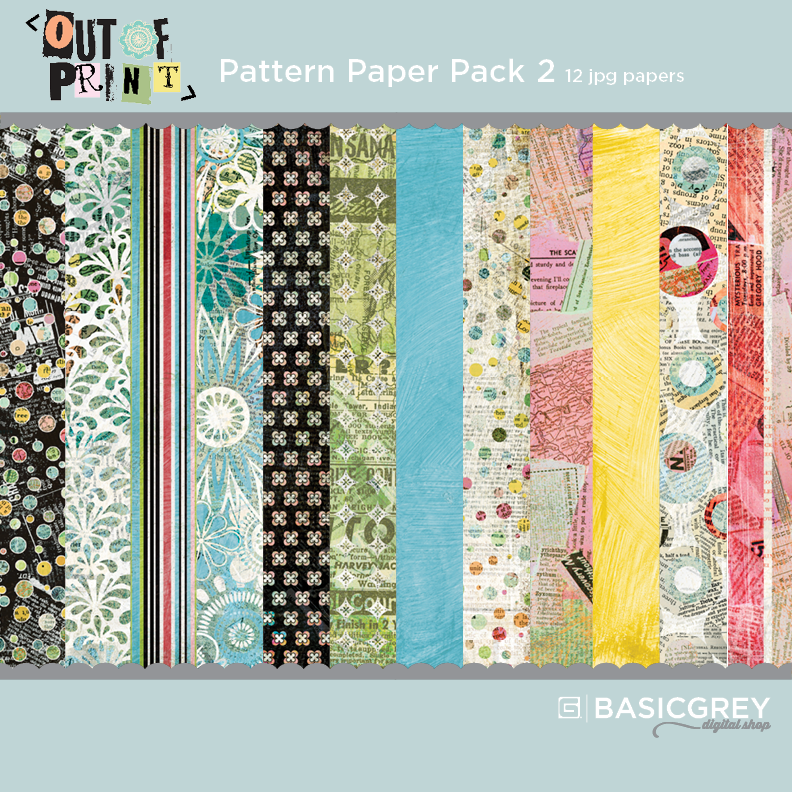 Out of Print Paper Pack 2
