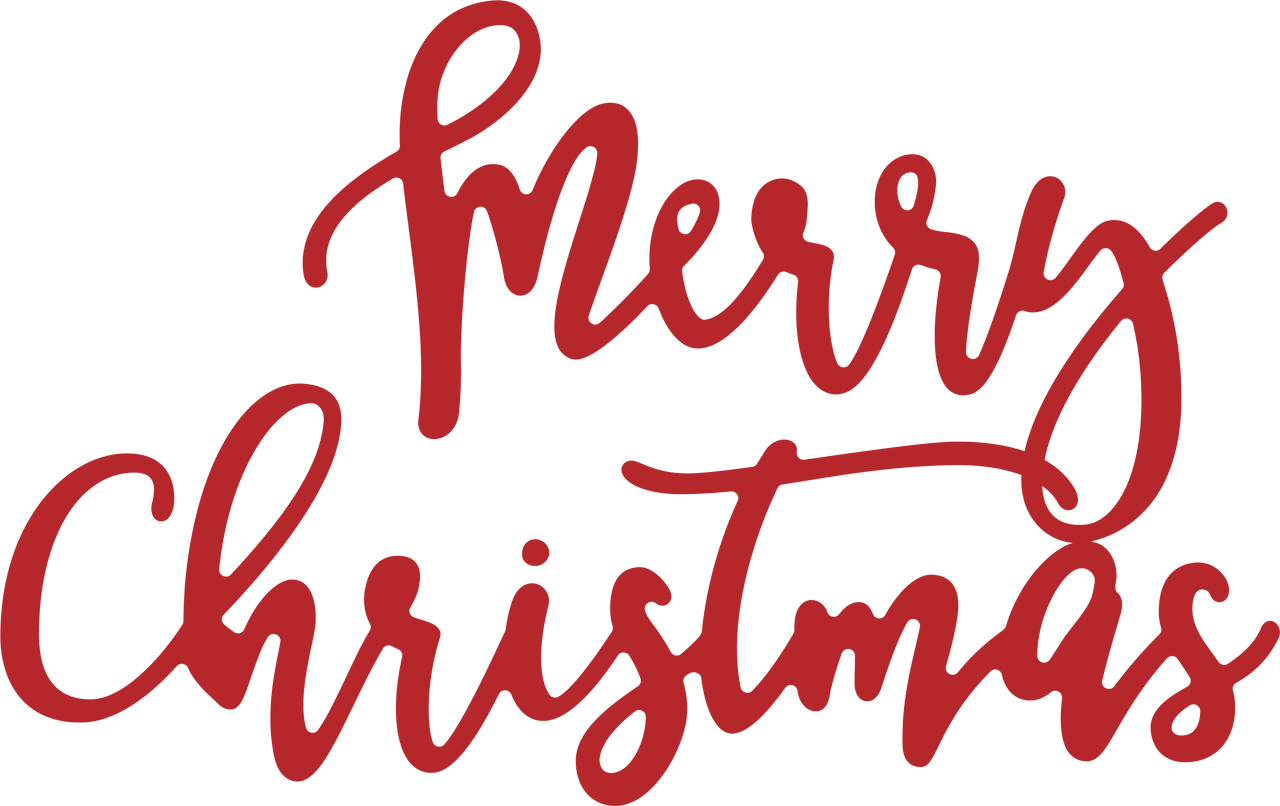 Merry Christmas Word Art Png.Merry Christmas Word Svg Cut File