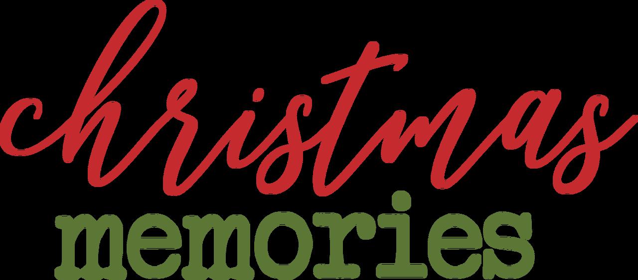 Christmas Memories SVG Cut File