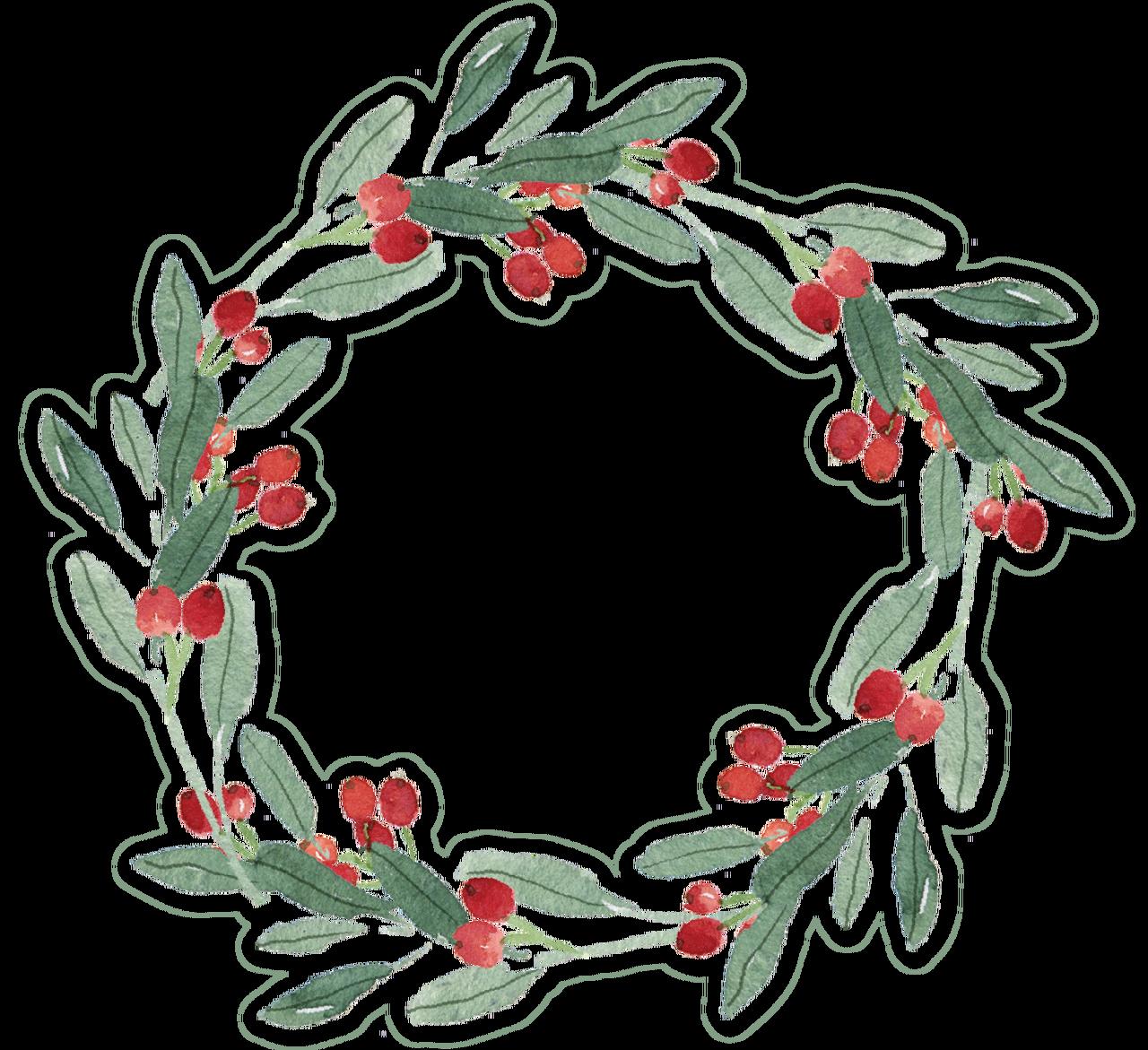 - Christmas Wreath #2 Print & Cut File - Snap Click Supply Co.