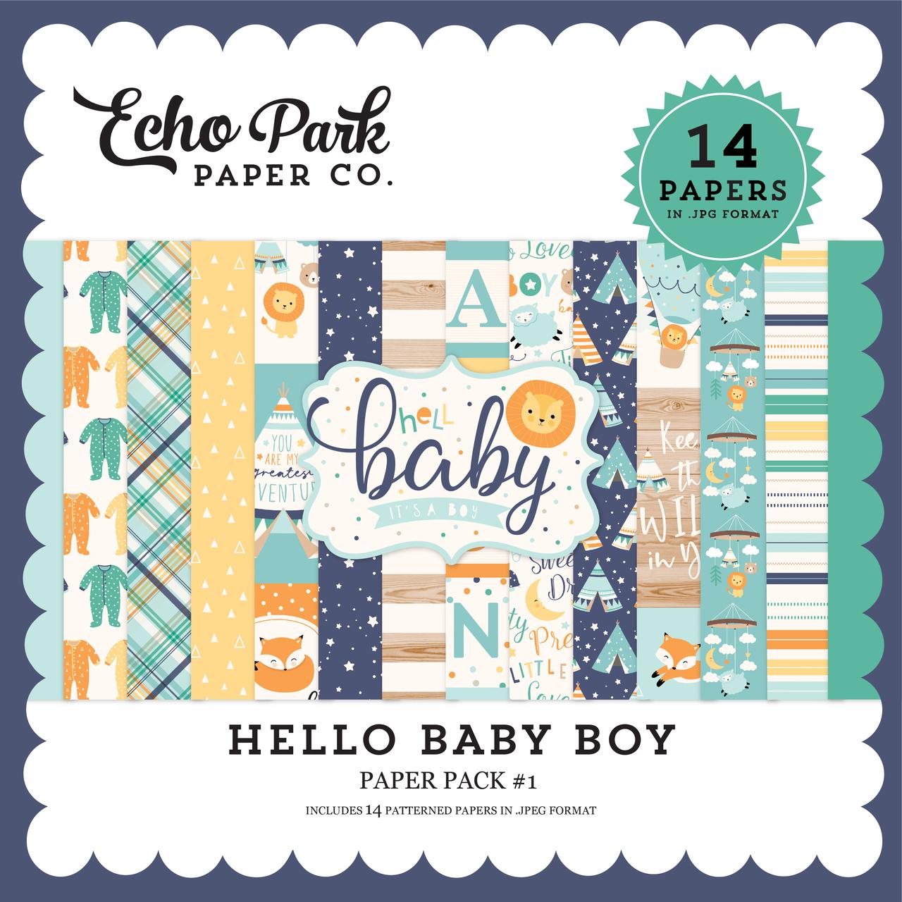 Hello Baby Boy Mega Collection