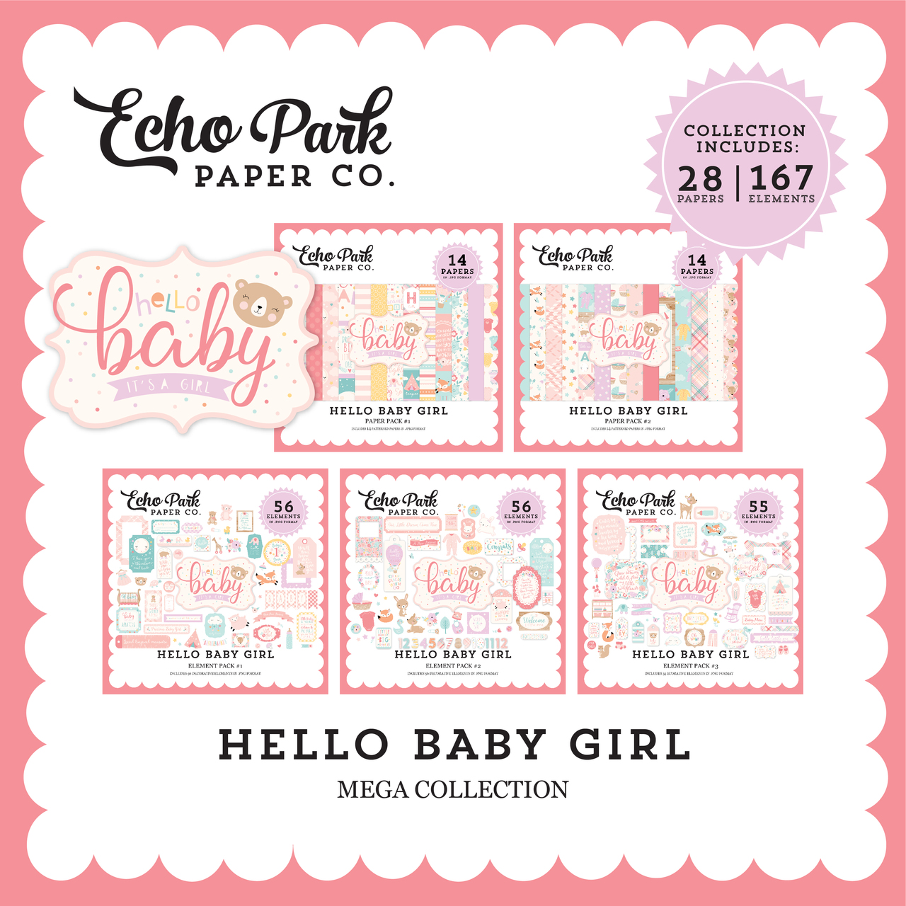 Hello Baby Girl Mega Collection