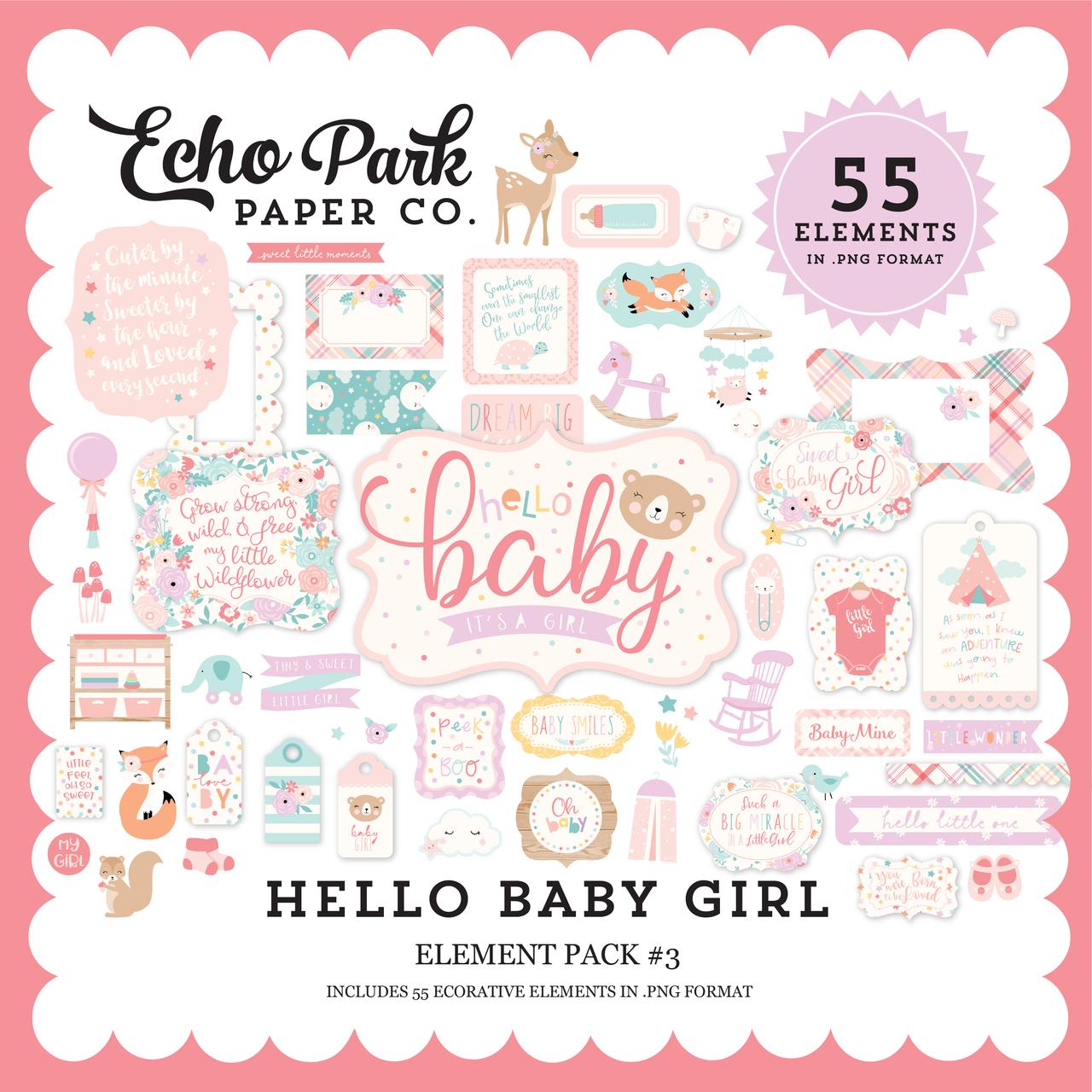 Hello Baby Girl Mega Collection