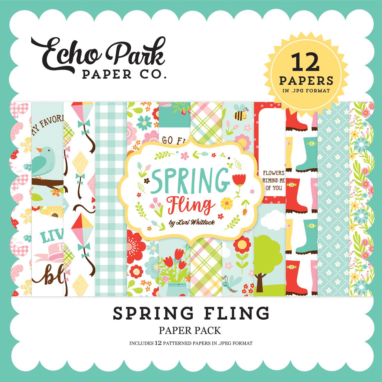 Spring Fling Paper Pack