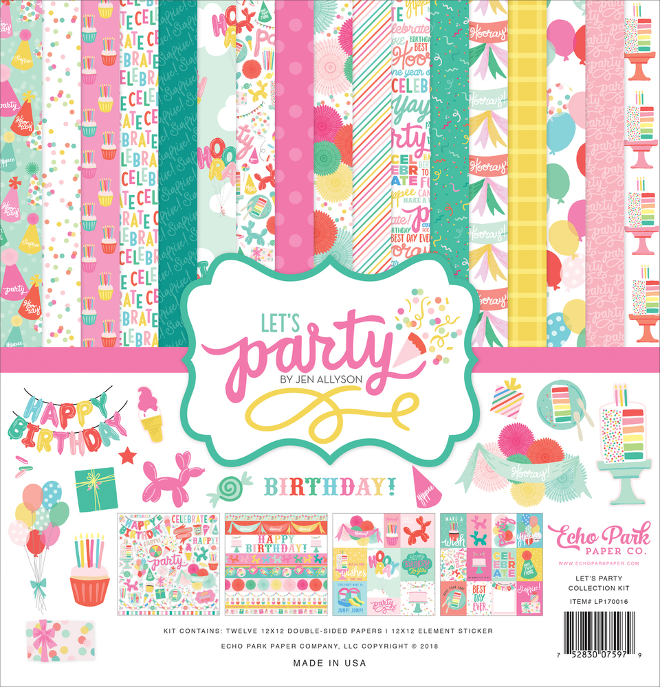Let's Party Collection Kit