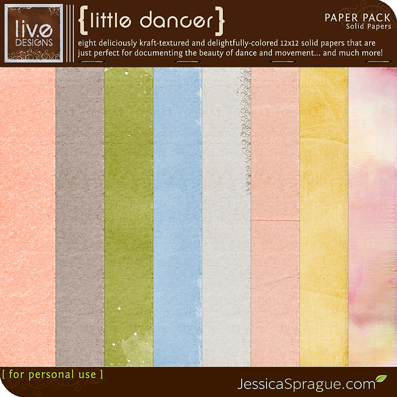 Little Dancer - Solid Papers