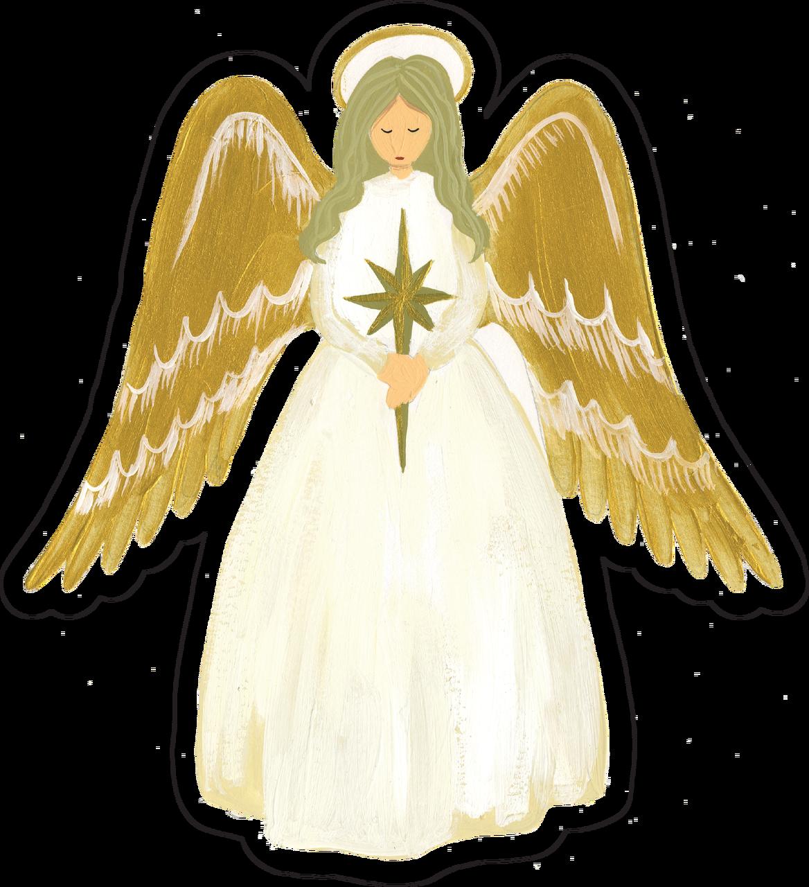 Angel Print & Cut File
