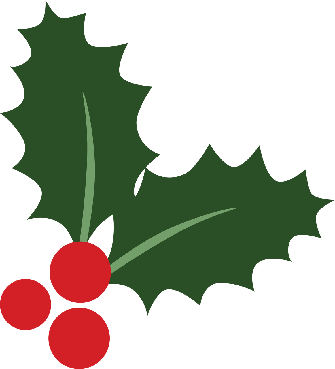 Holly Berries #4 SVG Cut File