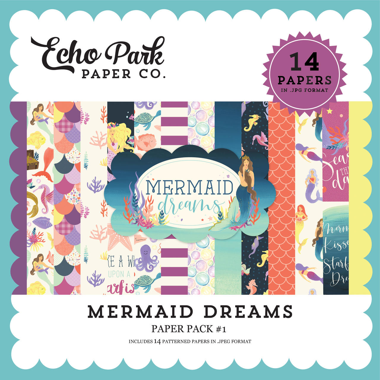 Mermaid Dreams Paper Pack #1