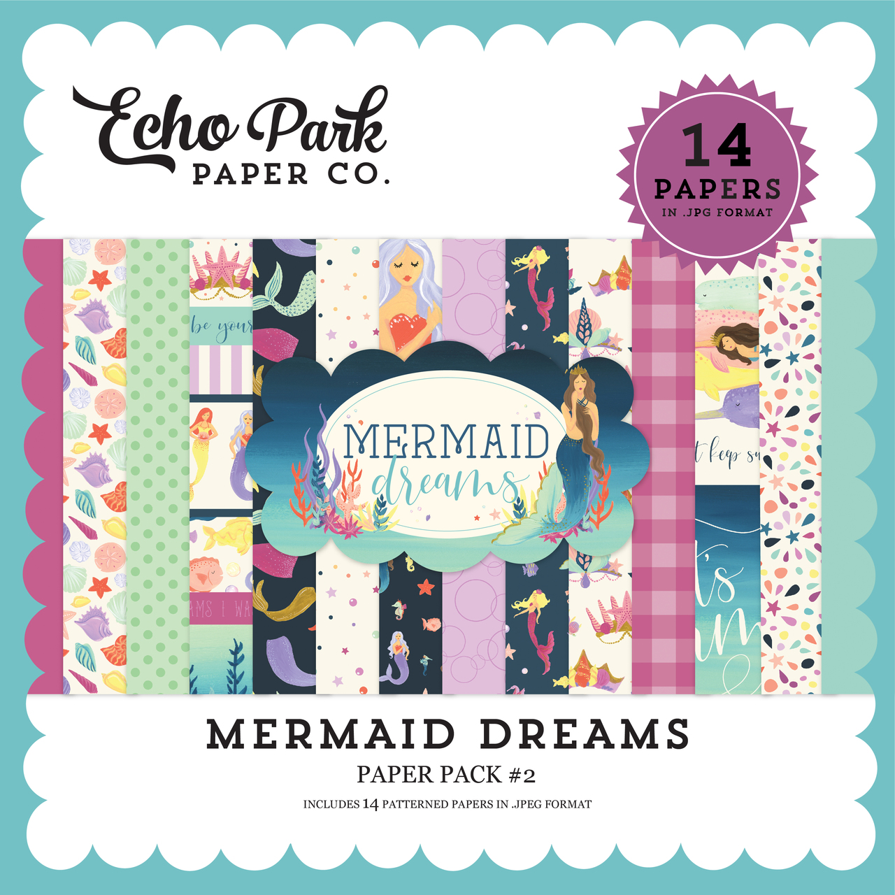Mermaid Dreams Paper Pack #2